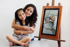 Andrea - Transplante de riñon